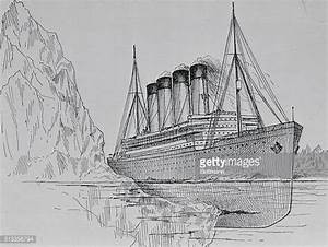 Titanic Drawings Of The Ship Stock Photos and Pictures ...