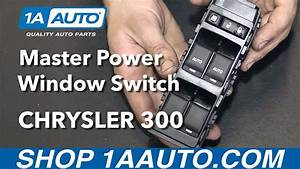How To Install Replace Front Master Power Window Switch