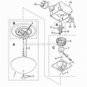 Nutone 773bnnt Parts List And Diagram   Ereplacementparts Com