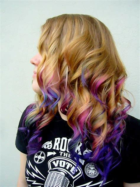25 Best Ideas About Purple Dip Dye On Pinterest Purple