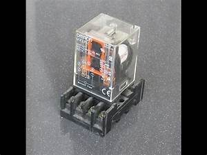 How To Operate Relay Omron Mk2p 220vac