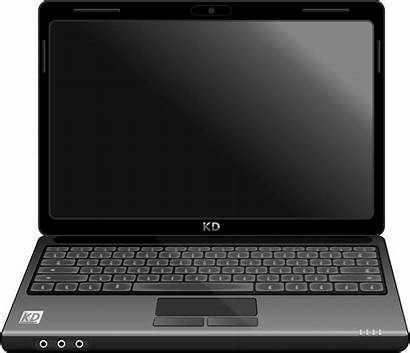 Laptop Clipart Notebook Vector Computer Clip Pc