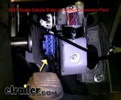 location   factory brake controller plug  location