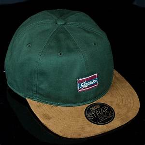 The Wanderer Strap Back Hat Green In Stock at The Boardr