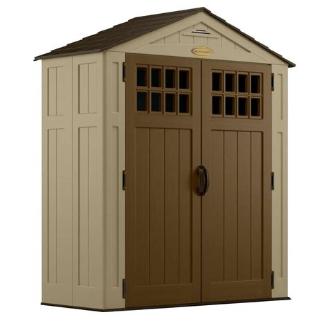 Suncast Shed Home Depot by Suncast Everett 2 Ft 9 In X 6 Ft 2 75 In Resin Storage