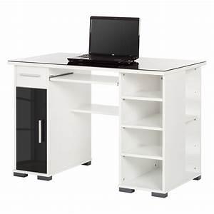 Schreibtisch Weiß Schwarz : schreibtisch schwarz wei preisvergleich die besten angebote online kaufen ~ Buech-reservation.com Haus und Dekorationen