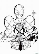 Spider Coloring Spiderman Pages Iron Drawing Deadpool Cartoon Printable Venom Spidermen Four Suit Colouring Cute Drawings Baby Draw Getcolorings Clipartmag sketch template