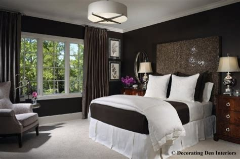 chocolate brown master bedroom chocolate brown and white bedroom contemporary bedroom 14815
