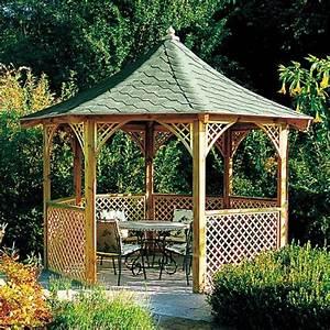 Holz Pavillon Bausatz : ratgeber pavillons ~ Frokenaadalensverden.com Haus und Dekorationen