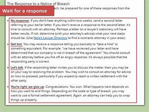 lawyer approved advice on how to write a breach of With explain green paperless documentation