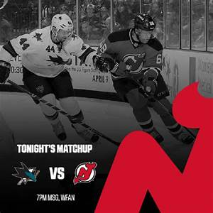 Devils to face Sharks in home opener tonight at Prudential ...