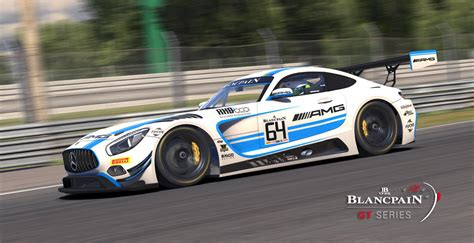 4 Black Falcon Mercedes Amg Gt3 Blancpain Gt 2017 By
