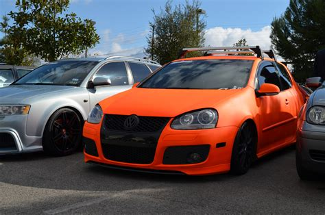 orange volkswagen gti orange mk5 eurocar news