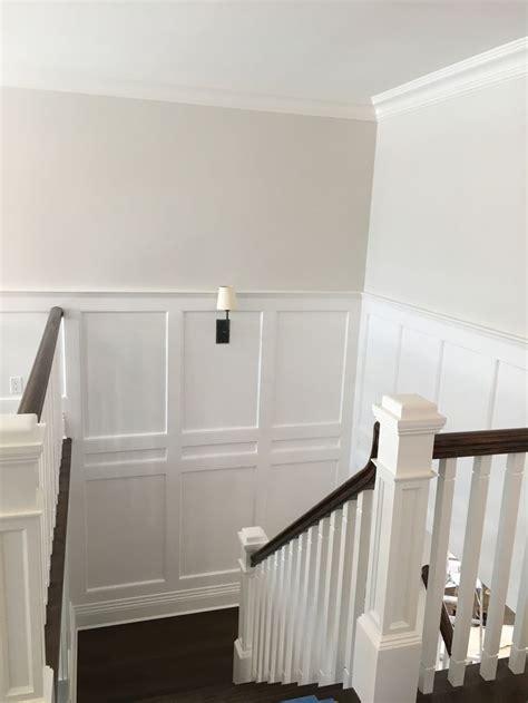 walls silver satin oc  matte finish trim white dove