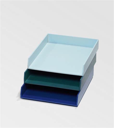 banette de rangement bureau bannettes de bureau bleues pour le rangement kollori com