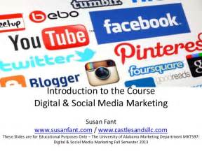 introduction to digital marketing course introduction to the course digital social media marketing