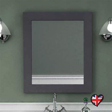 2651 grey bathroom mirror insolito carolla bathroom mirror charcoal grey buy