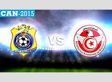 CAN 2015 RDC vs Tunisie Aigles et Léopards en lutte