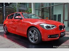 BMW F20 1 Series Launched in Malaysia autoevolution