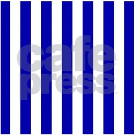 navy blue and white sailor stripes shower curtain by