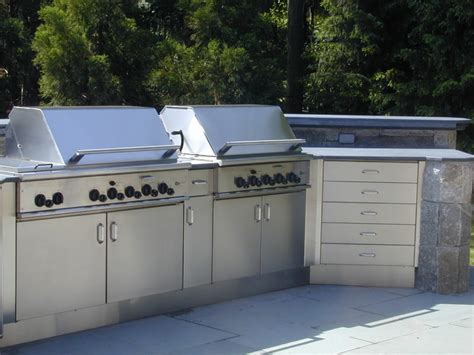stainless steel outdoor kitchen cabinets stainless steel cabinets for outdoor kitchen custom