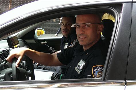 nypd patrol officers started testing glass in