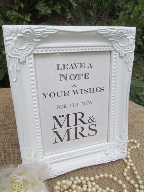 wedding  tree sign   bow tie pearls vintage frame