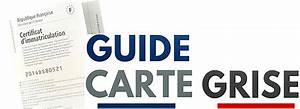 Calculer Sa Carte Grise : apprendre lire sa carte grise le guide de la carte grise ~ Gottalentnigeria.com Avis de Voitures