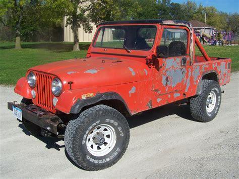 jeep scrambler cj  long wheelbase pickup truck  cj lj classic jeep    sale