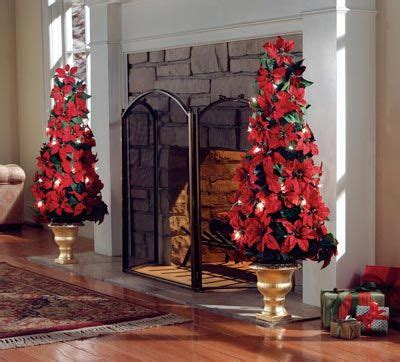 how to make a christmas yard poinsettia lighted lighted poinsettia floral topiary indoor decor poinsettia