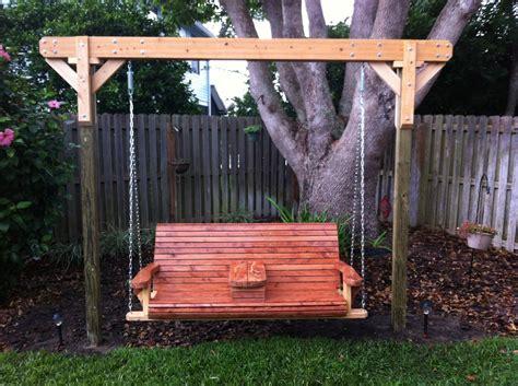 porch swing designs free
