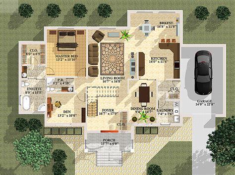 floor plans rendering