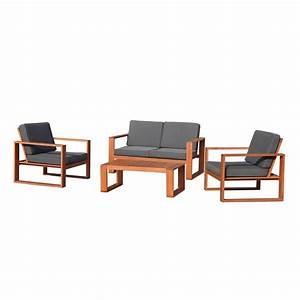 mimosa 4 piece deva deep seat sofa setting bunnings With outdoor furniture covers waterproof bunnings
