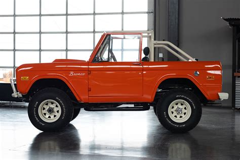 2019 Mini Bronco by Auction Block V8 Powered 1969 Ford Bronco Hiconsumption