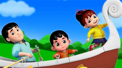 Row Row Your Boat Abc Kid Tv by Row Row Row Your Boat Nursery Rhymes For Kids And Baby
