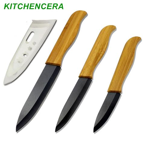 kitchen knives brands brand high sharp quality bamboo handle with black blade