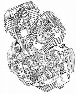 Harley V Twin Engine Diagram