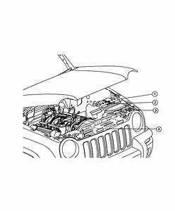 2008 Jeep Liberty Label  Battery  Battery Warning  Export