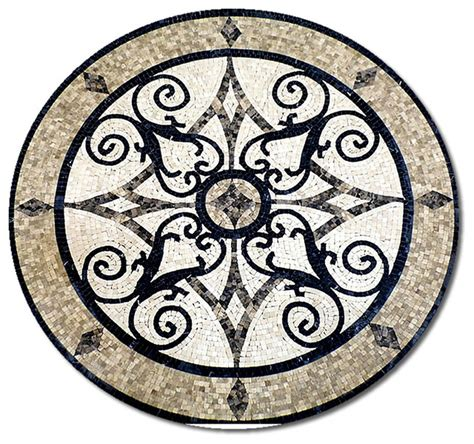 marble medallions for floors medallions plus mosaic honed floor medallions tile medallion marble inlay reviews houzz