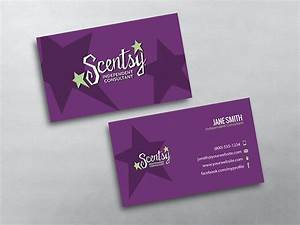 Scentsy business cards free shipping for Scentsy business card template