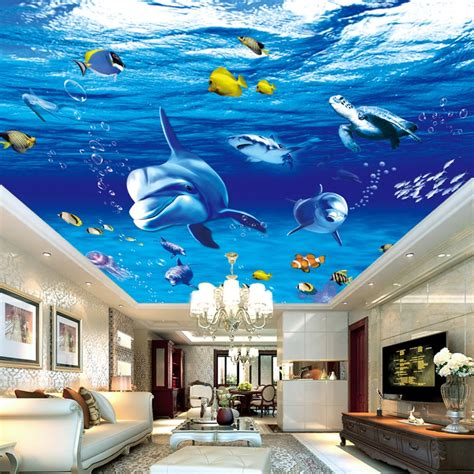 online buy wholesale ceiling wallpaper designs from china