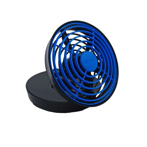 ceiling fans run by battery o2cool 5 in battery operated usb fan fd05003 the home depot
