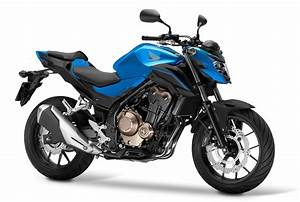 Honda Cb500f 2018 : 2018 honda cb500f blue press front right quarter ~ Voncanada.com Idées de Décoration