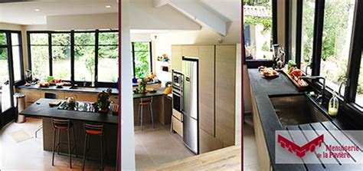 agrandissement cuisine sur terrasse extension de maison pres de lyon une cuisine sous