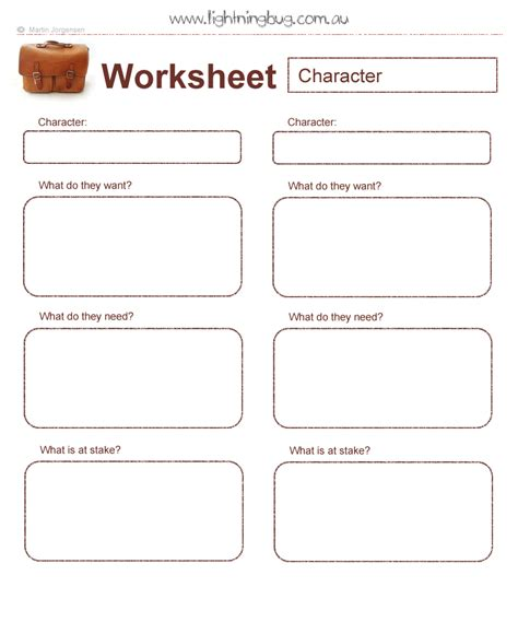 Character Worksheet  Nanowrimo  Pinterest  Character Sheet, Composition And Writers Write