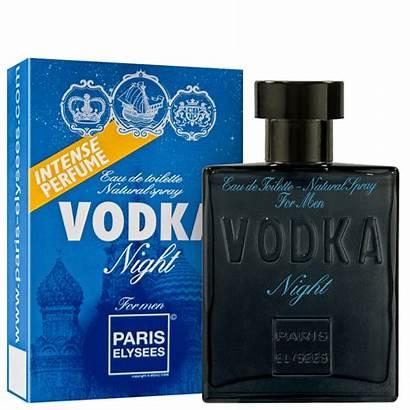 Vodka Perfume Paris Night Elysees 100ml Masculino
