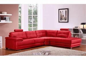 canape canape cuir salle de bain salon de jardin et With canapé d angle rouge cuir
