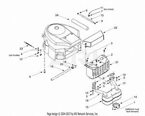 Mtd 14av807p131  2000  Parts Diagram For Engine Accessory