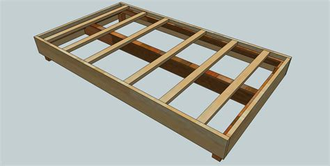 woodworking plans  kids bed frame woodshopcowboy