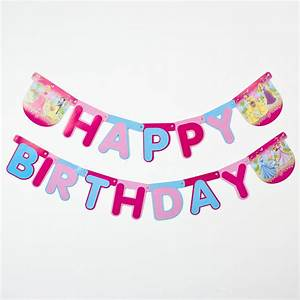 be the first to review this product With happy birthday letter banner